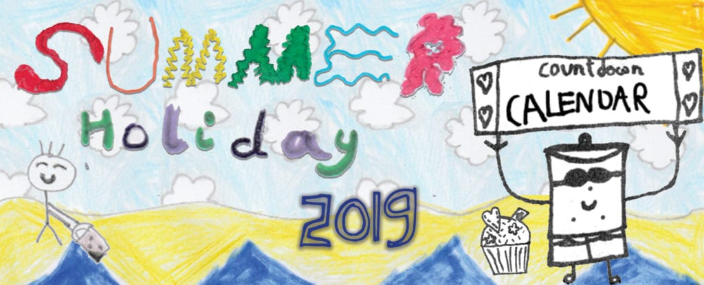Summer Holiday Countdown Calendar 2019