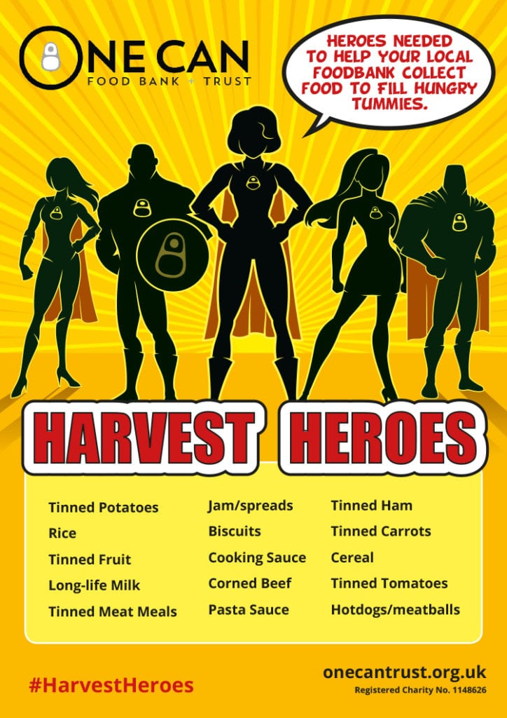 One-Can Harvest Heroes Poster