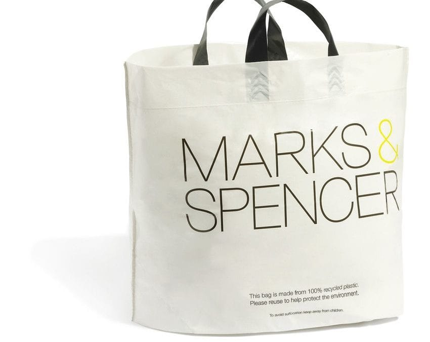 Thanks Marks and Spencer & Waitrose – more bags needed!