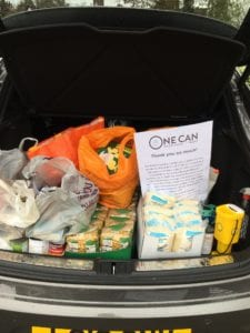 food donations one can food bank