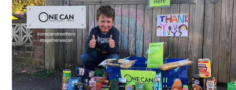 One Can Street Heroes - food bank donations