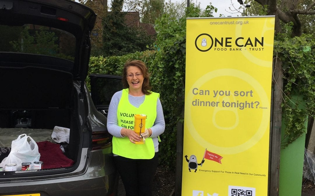 One Can Street Heroes one can food bank