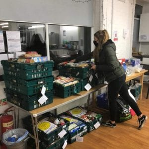 volunteer at one can trust food bank